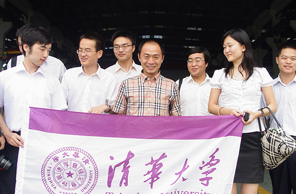 11 Doctor of Tsinghua University came to Jiangsu JWC Group for investigation and cooperation