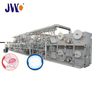 Disposable Breast Pad Machine (Double Routes Output)